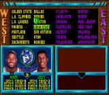 NBA Jam Tournament Edition SNES Pair selection.