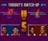 NBA Jam Tournament Edition SNES VS screen.