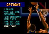 "Dick Vitale's ""Awesome, Baby!"" College Hoops Genesis Main menu"