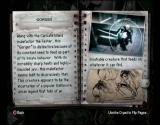 The Suffering:  Ties That Bind Xbox Jordan's journal stores info on monsters you have encountered.