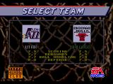 NBA Showdown Genesis Team selection for exhibition
