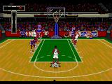 NBA Showdown Genesis Free throw