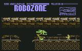 Robozone Commodore 64 Like HE stands a chance