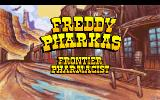 Freddy Pharkas: Frontier Pharmacist DOS Title screen
