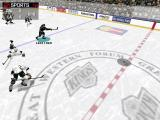 NHL 98 Windows Just away with the puck.