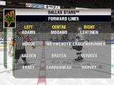 NHL 98 Windows Today's line up.