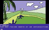 Death in the Caribbean Commodore 64 Going north