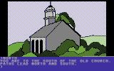 Death in the Caribbean Commodore 64 Back of a church