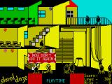 Skool Daze ZX Spectrum I got lines for shooting the Headmaster. >:-)
