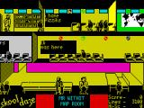 Skool Daze ZX Spectrum Eric should go to the map room