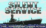 Silent Service Commodore 64 Title screen