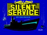 Silent Service ZX Spectrum Title screen
