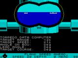 Silent Service ZX Spectrum Looking through the periscope