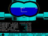 Silent Service ZX Spectrum Targeting a ship