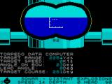Silent Service ZX Spectrum She's going down