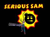 Serious Sam: The First Encounter Windows Game logo
