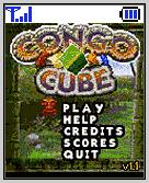 Congo Cube BREW BREW title screen and menu in one!