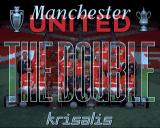 Manchester United: The Double Amiga Title screen