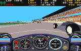 Indianapolis 500: The Simulation Amiga Cockpit view
