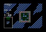 Atomix Atari ST The bonus game; slide the beakers to match the pattern on the left