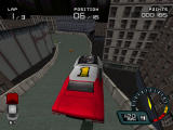 Demolition Racer PlayStation Big jump