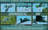 Birds of Prey Amiga The second mission selection screen