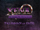 Xena: Warrior Princess - The Talisman of Fate Nintendo 64 Title screen.