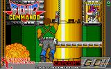 Bionic Commando Amiga Title screen