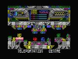 Terminus: The Prison Planet MSX Teleport station