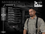 The Godfather: The Game Windows MobFace lets you design the main character.