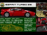 Lotus Turbo Challenge 2 Amiga Esprit Turbo SE technical details
