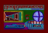 Nonterraqueous Amstrad CPC Title screen