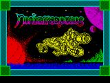 Nonterraqueous ZX Spectrum Title screen