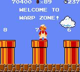Super Mario Bros. Deluxe Game Boy Color Welcome to the Warp Zone!