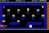 Dangerous Dave in the Deserted Pirate's Hideout! Apple II Double-res Level 1