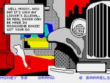 Mugsy's Revenge ZX Spectrum The scenario