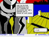 Mugsy's Revenge ZX Spectrum Things can go wrong on the money front