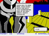 Mugsy's Revenge ZX Spectrum Sometimes the thefts go your way