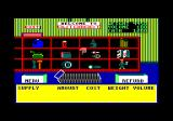 4x4 Off-Road Racing Amstrad CPC At the Auto Mart