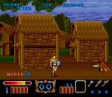 Magic Sword SNES The beginning