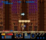 Magic Sword SNES The arrow tells you to go right