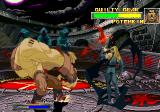 Guilty Gear PlayStation That Potemkin fella is sure easy to beat (if you fight him in training mode, where he's standing still).