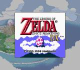 The Legend of Zelda: Link's Awakening DX Game Boy Color Title screen
