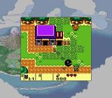 The Legend of Zelda: Link's Awakening DX Game Boy Color A crazy ball monster on a chain :/