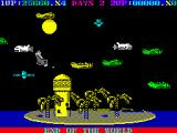 Destructo ZX Spectrum Space shuttle launched pair of indestructible satellites