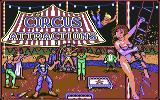 Circus Attractions Commodore 64 Title screen