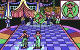 Circus Attractions Commodore 64 Knife throwing