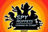 Spy Muppets: License to Croak Game Boy Advance Title screen.