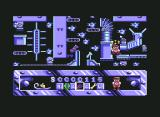 Night Shift Commodore 64 Fall too far and you see stars