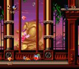 Maui Mallard in Cold Shadow SNES The mansion in the SNES version does not feature the spitting pirate faces from the Genesis/Mega Drive version.